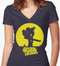 Shadow of the Colossus  Women's Fitted V-Neck T-Shirt