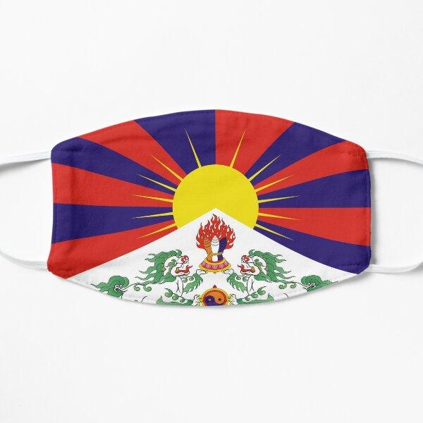Flagge von Tibet Maske