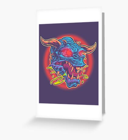 GHOSTBUSTERS: TERROR DOG Greeting Card