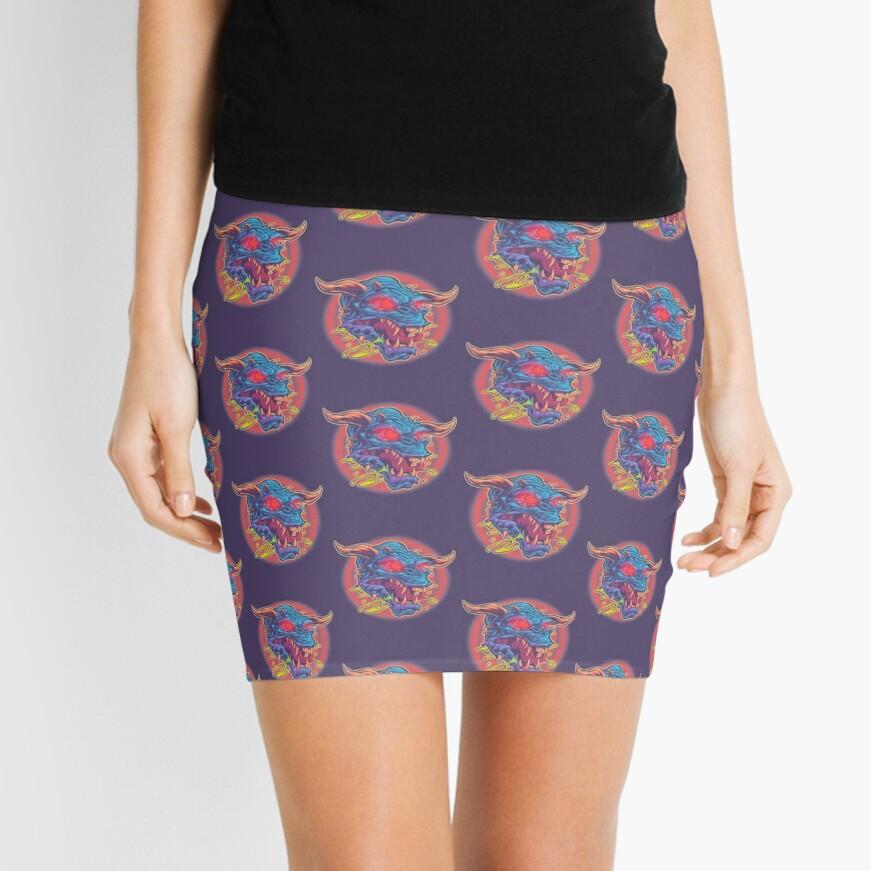 GHOSTBUSTERS: TERROR DOG Mini Skirt