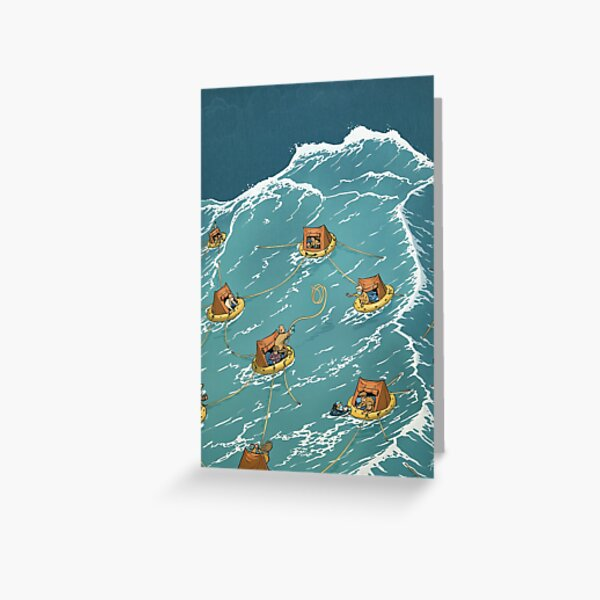 Holding together, keeping apart Greeting Card