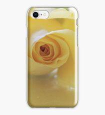 Burst of Sunshine ~ Yellow Rose iPhone Case/Skin