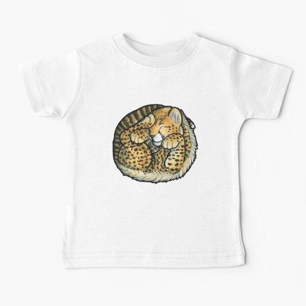 Sleeping Cheetah cub Baby T-Shirt