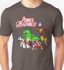 Ponies, assemble! Unisex T-Shirt