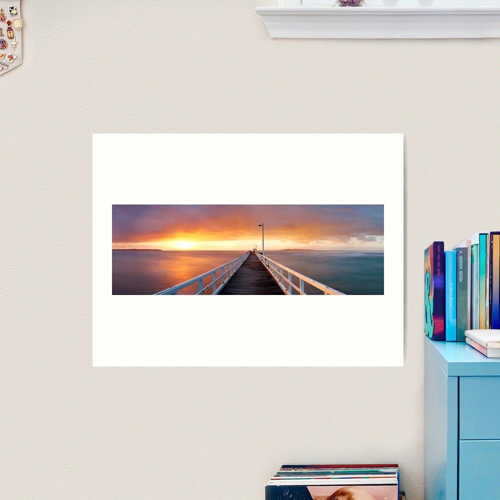 Point Lonsdale Pier, Victoria, Australia Art Print