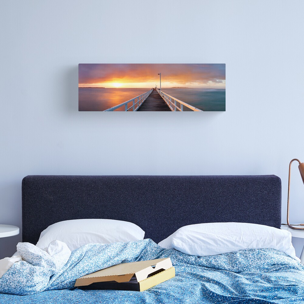 Point Lonsdale Pier, Victoria, Australia Canvas Print