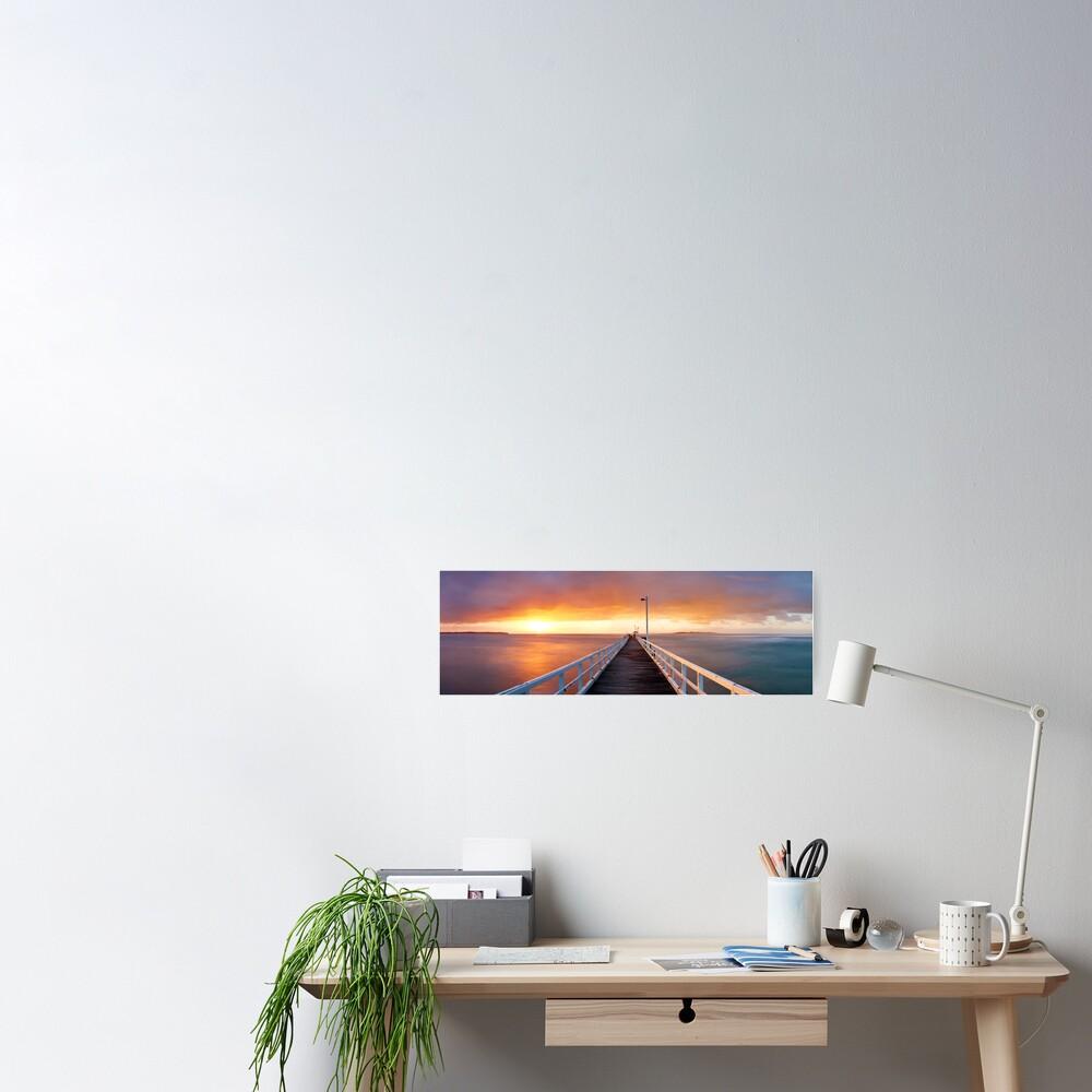 Point Lonsdale Pier, Victoria, Australia Poster
