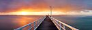 Point Lonsdale Pier, Victoria, Australia by Michael Boniwell