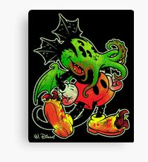 MICKHULHU MOUSE (color) Canvas Print