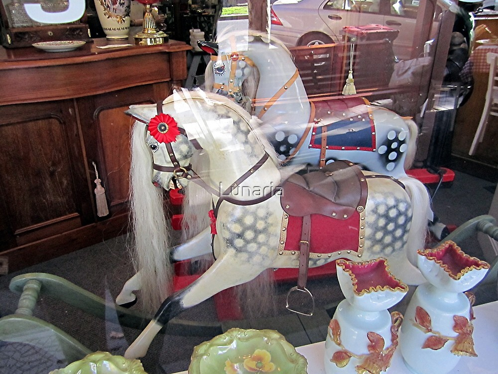 Horses instore! by Lunaria