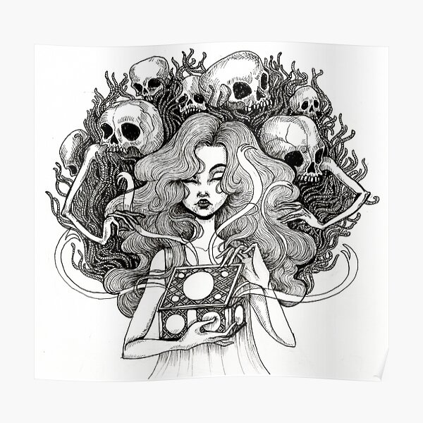 Pandora Poster By Caitliwinx Redbubble