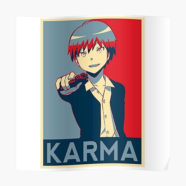 Assassination classroom, Karma Akabane fanart ! Poster