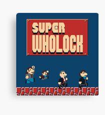 Super Wholock Canvas Print