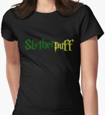 Slytherpuff Womens Fitted T-Shirt