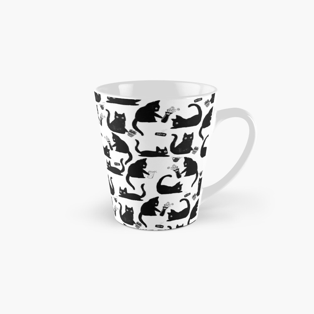 Bad Cats Knocking Stuff Over Mug