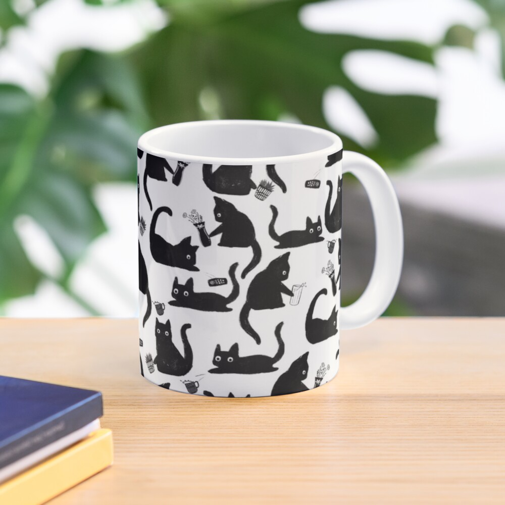 Bad Cats Knocking Stuff Over Mug