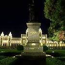 Victoria - Queen Victoria & The Legislature By Night by rsangsterkelly