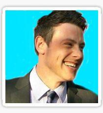 Cory Monteith smile sticker Sticker