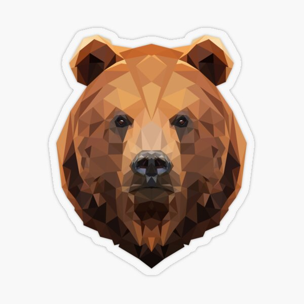 Bear Transparent Sticker