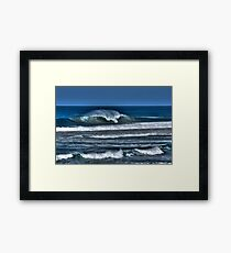 Groomed by the Wind Framed Print