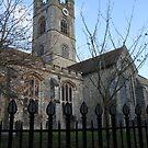Gothic Stone Church, Kent, England by Jane McDougall