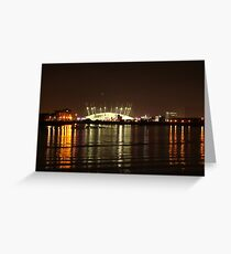 London Olympics Millenium Dome Greeting Card
