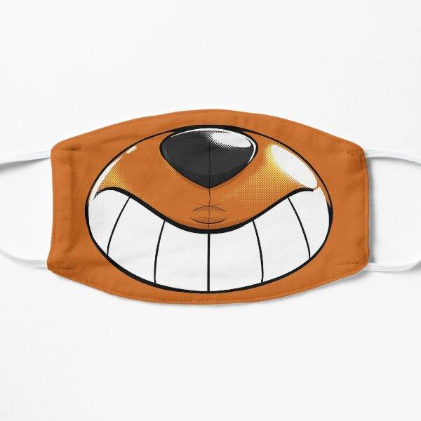 Pool toy muzzle, Orange Flat Mask
