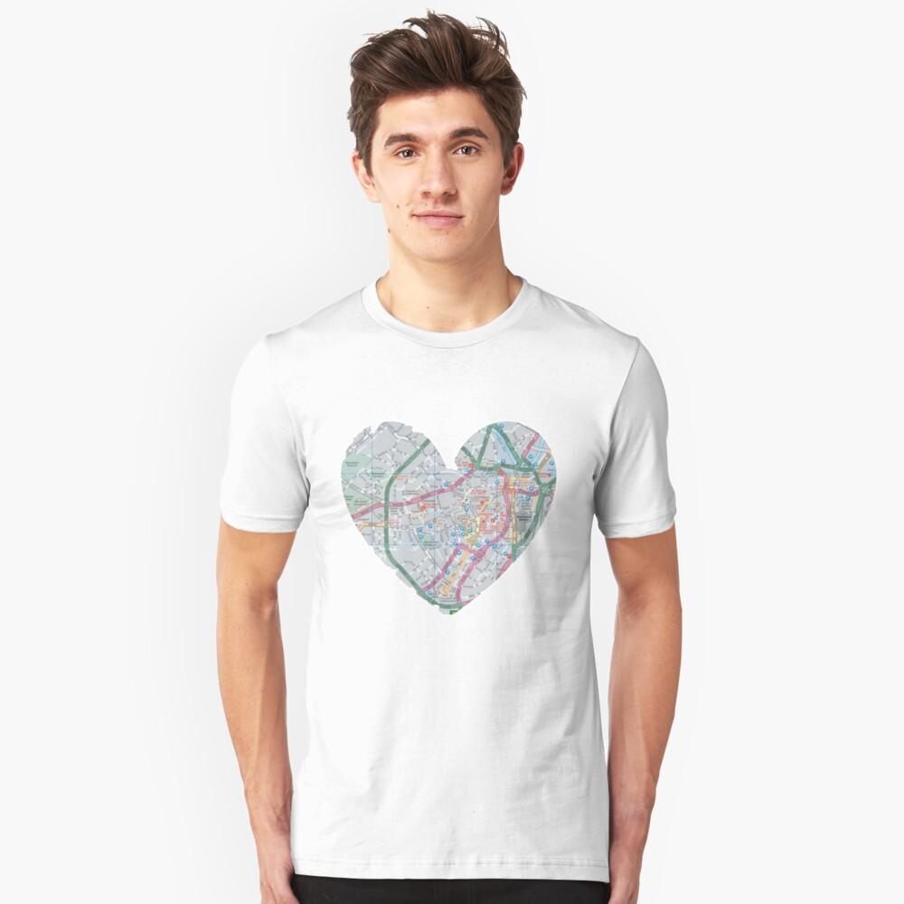 Love Sheffield Unisex T-Shirt Front
