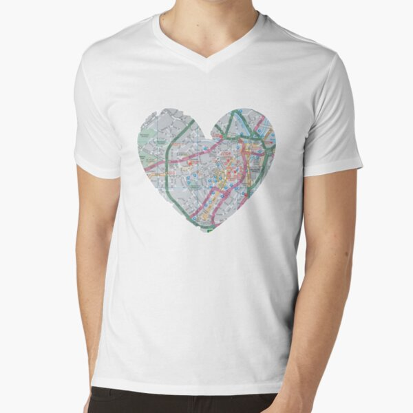 Love Sheffield V-Neck T-Shirt