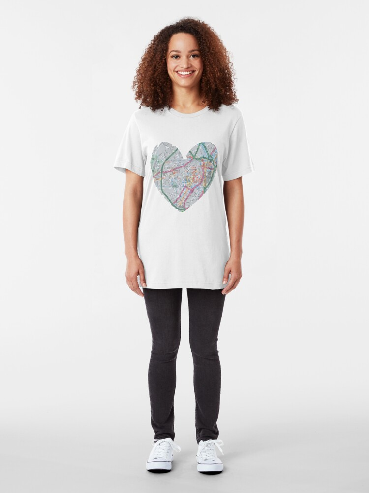 Alternate view of Love Sheffield Slim Fit T-Shirt
