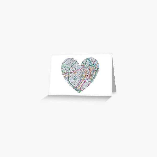 Love Sheffield Greeting Card