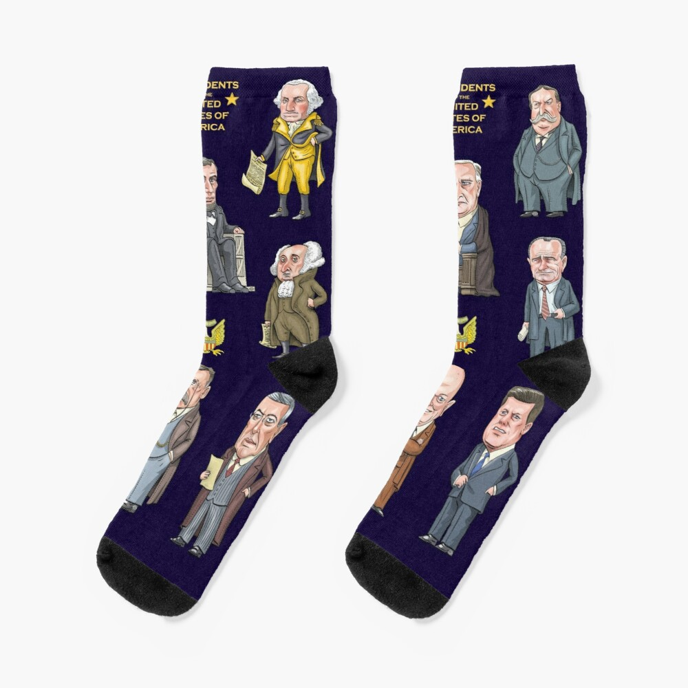 Presidents of the United States Socks