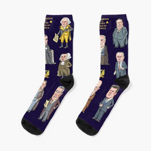 Presidents of the United States Socks
