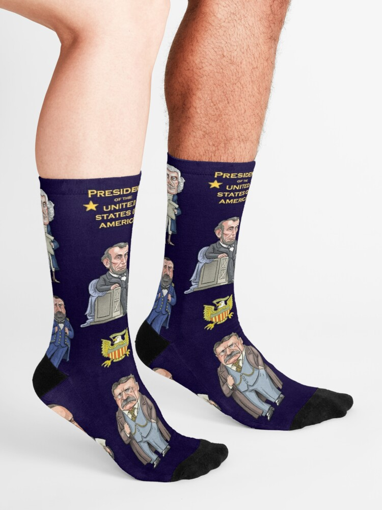 Alternate view of Presidents of the United States Socks