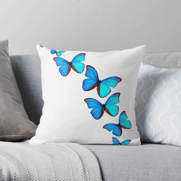 A Kaleidoscope of Butterflies Throw Pillow