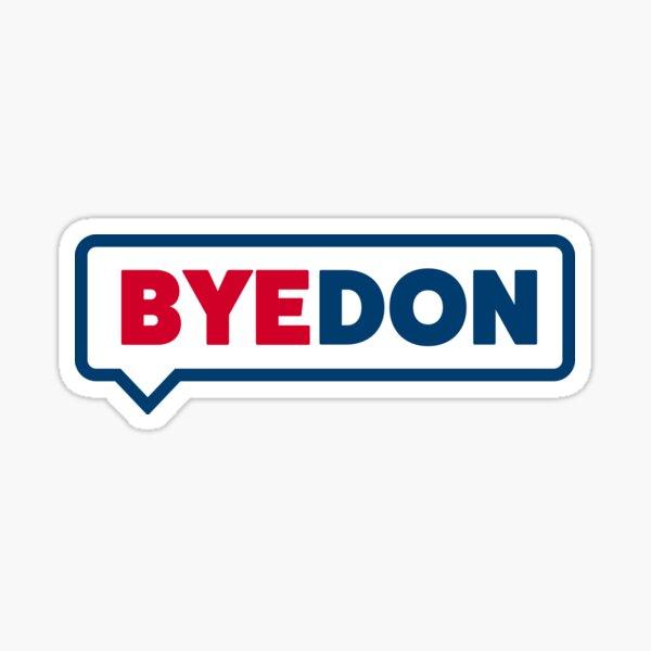 ByeDon Talk Bubble Sticker