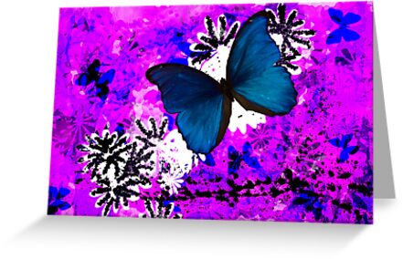 Butterfly Abstract by elainemarie999