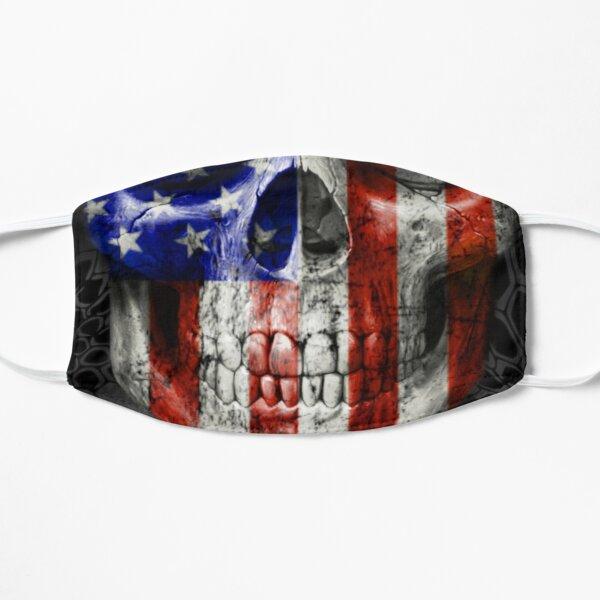 American Flag Skull  Mask