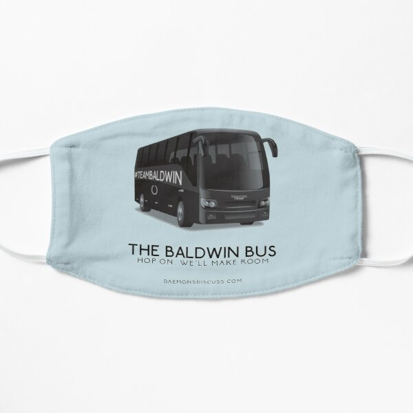 The Baldwin Bus Flat Mask