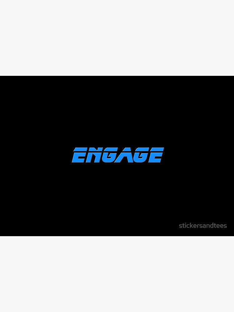 Engage - Engagement Honeymoon Elope Sticker T-Shirt by stickersandtees