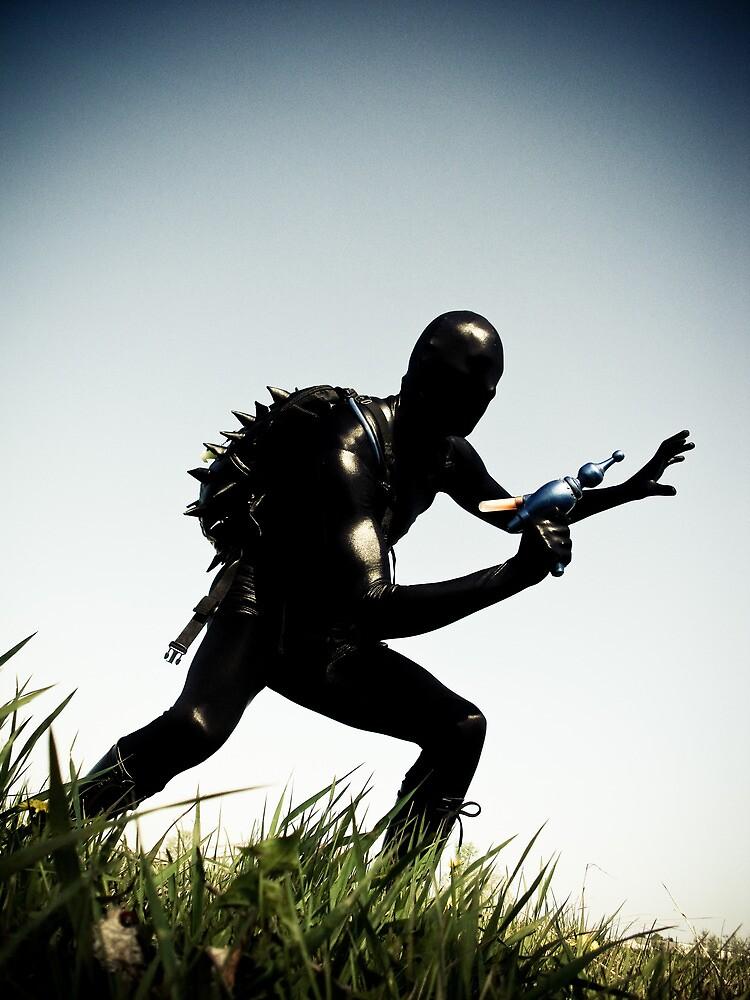 Ray Gun Zentai 2012 Set II Pic 03 by mdkgraphics