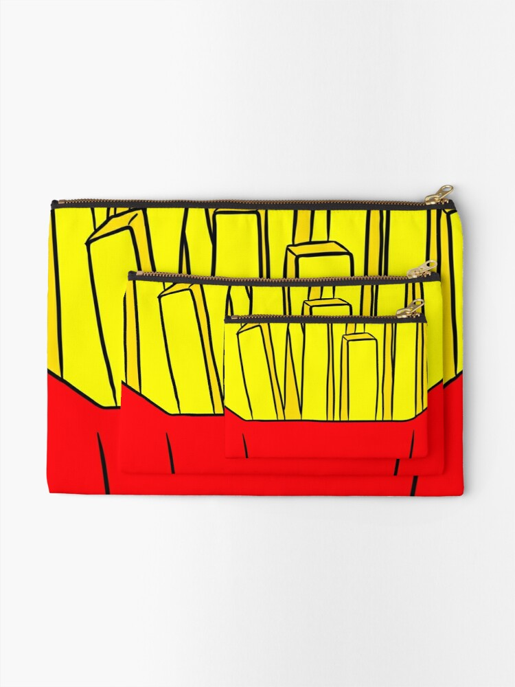 Alternate view of Happy FRY-Day! Zipper Pouch