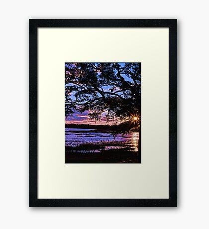 Beaufort Sunset Framed Print