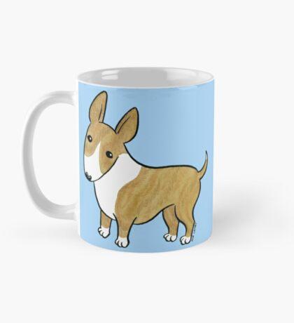 English Bull Terrier - Brindle and White Mug