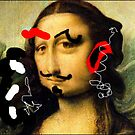 Mona's doodle by Lazarita Betancourt