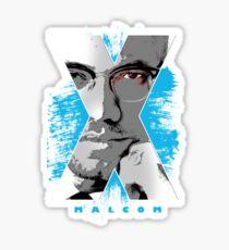 malcom x Sticker