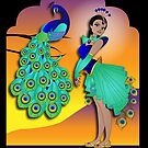 Twisted - Wild Tales: Mohini and the Peacock by Lauren Eldridge-Murray