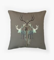 The Forest Spirits Throw Pillow