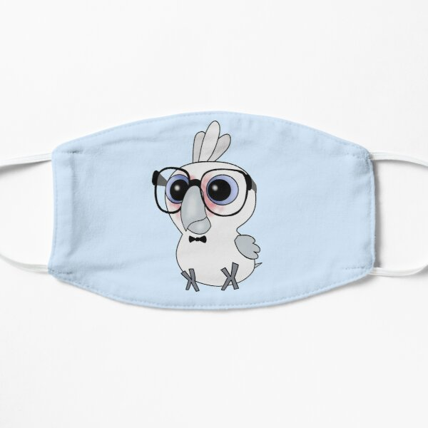 Nerdy Birdy: Bare-eyed Cockatoo  Mask