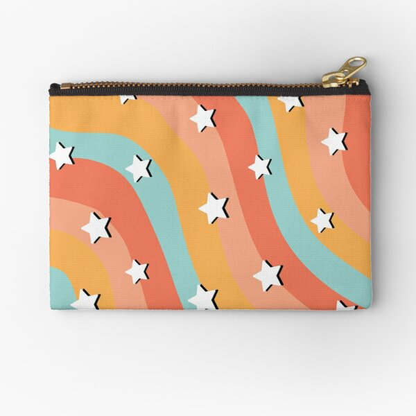 vsco star pattern Zipper Pouch